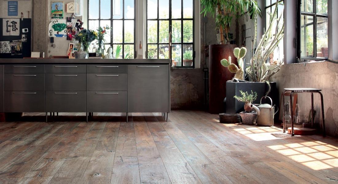 Listone Giordano海島型木地板-手刮處理木地板1